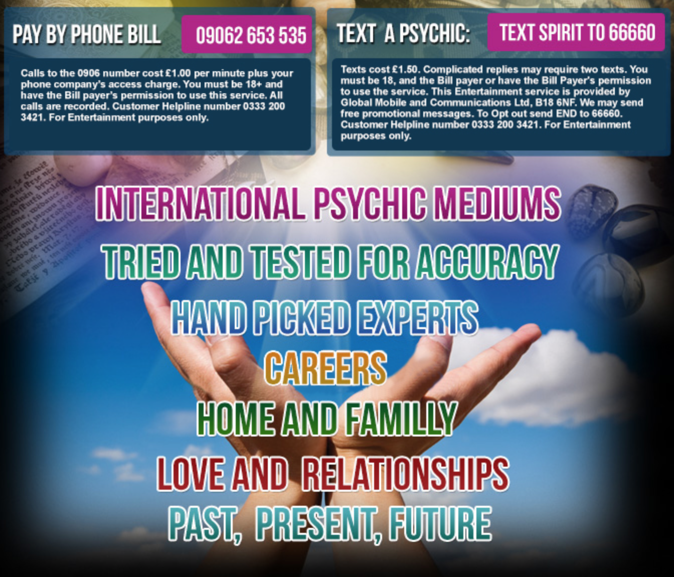 UK Psychic Readings
